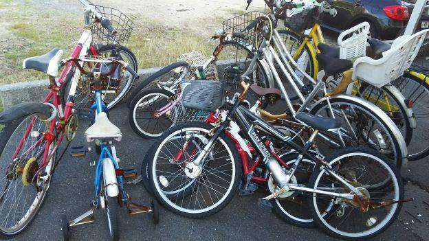 放置自転車無料回収