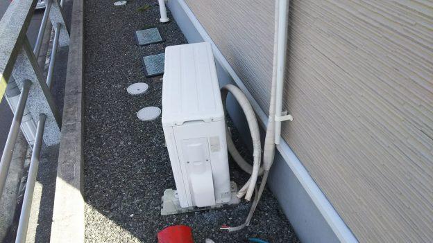 東東広島でエアコン取り外し回収