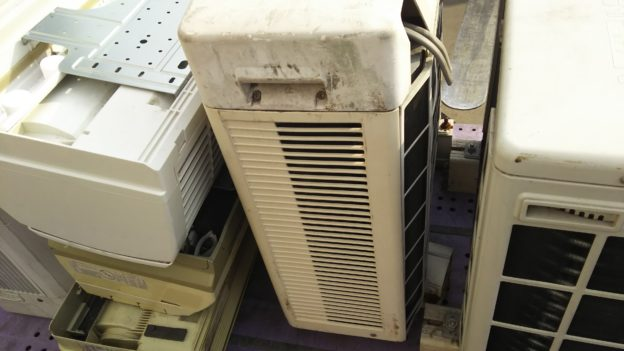 エアコン無料回収不用品回収大忙し