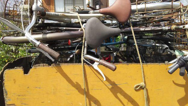 放置自転車、放置バイク、無料回収