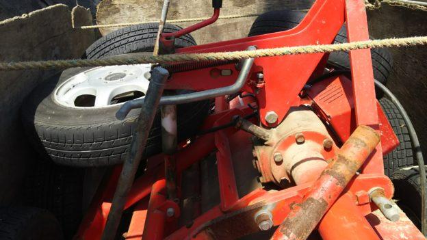 農機具、アルミタイヤ無料回収