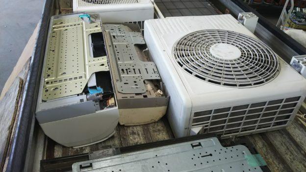 取り外し済みエアコン無料回収広島