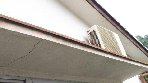 屋根上エアコン