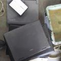 エアコン回収時にノートパソコン回収
