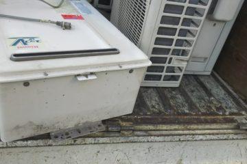 取り外し済みエアコン取り外し済み給湯器回収