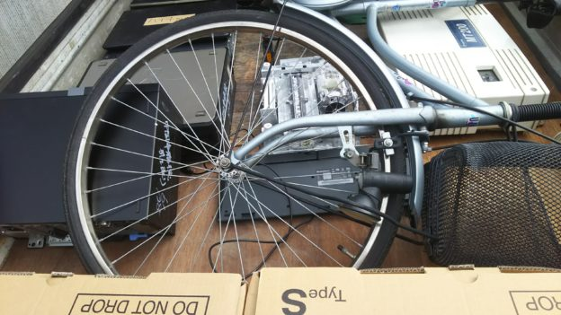 パソコン、自転車回収