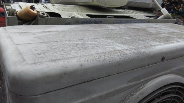 リフォ―ムの為エアコン2台取り外し回収