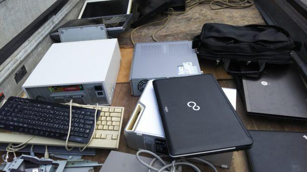 パソコン、周辺機器回収