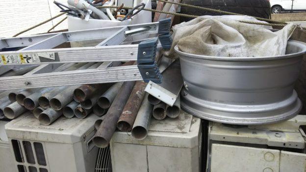 呉市内でエアコン3台、不用品回収