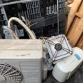 取り外し済みエアコン、不用品回収