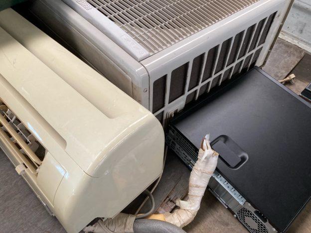 呉市取り外し済みエアコン、パソコン本体、無料回収